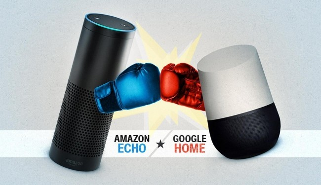 Google Home vs. Amazon Echo Welcher Sprachassistent ist besser google vs amazon kampf