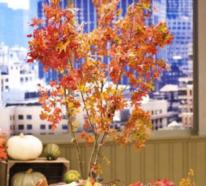 Hinreißende Herbstdeko Ideen mit bunten Blättern, Zweigen und Beeren