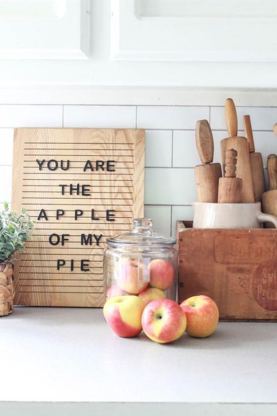 Holzschilder heißen den Herbst willkommen humorvolle Beschriftung oder eher eine Liebeserklärung