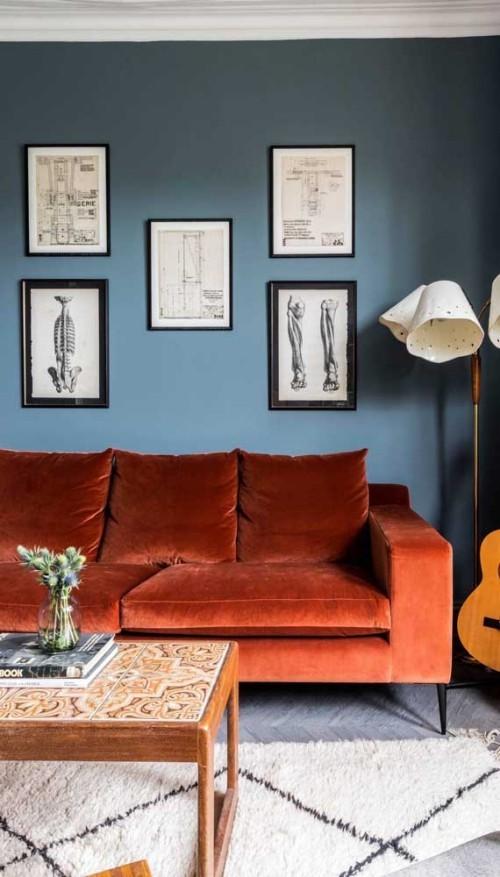 Inneneinrichtung - Inneneinrichtung Ideen - Retro Sofa