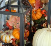 Laternen – ein Muss in der Herbstdeko drinnen und draußen