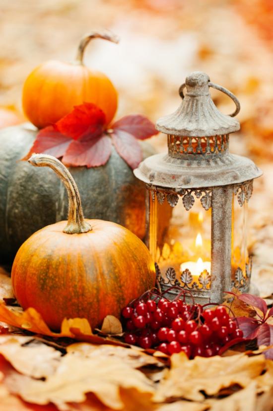 Laternen tolle Herbstdeko mit Laternen im Vintage Look