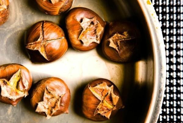 Maronen Zubereitung Maronen Rezepte Esskastanien Maronen kochen