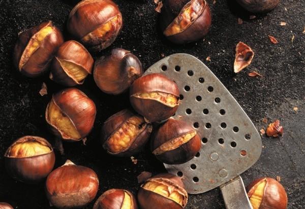 Maronen Zubereitung Maronen gesund Esskastanien rösten