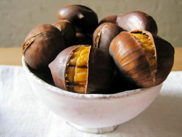 Maronen Zubereitung Maronen gesund Maronen im Backofen zubereiten