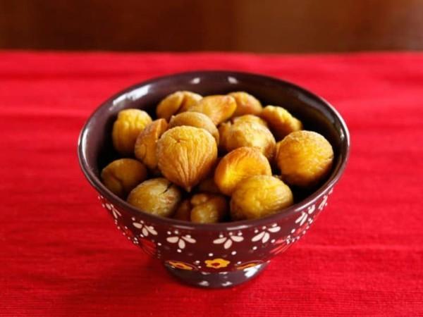 Maronen Zubereitung Maronen gesund Nussfrüchte Esskastanien rösten