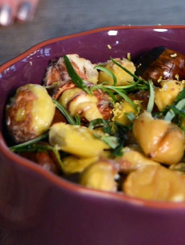 Maronen Zubereitung Rezepte mit Maronen gesund Kastanien kochen