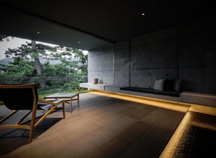 Minimalistisches Haus aus Stein und Beton in Japan Minimalismus