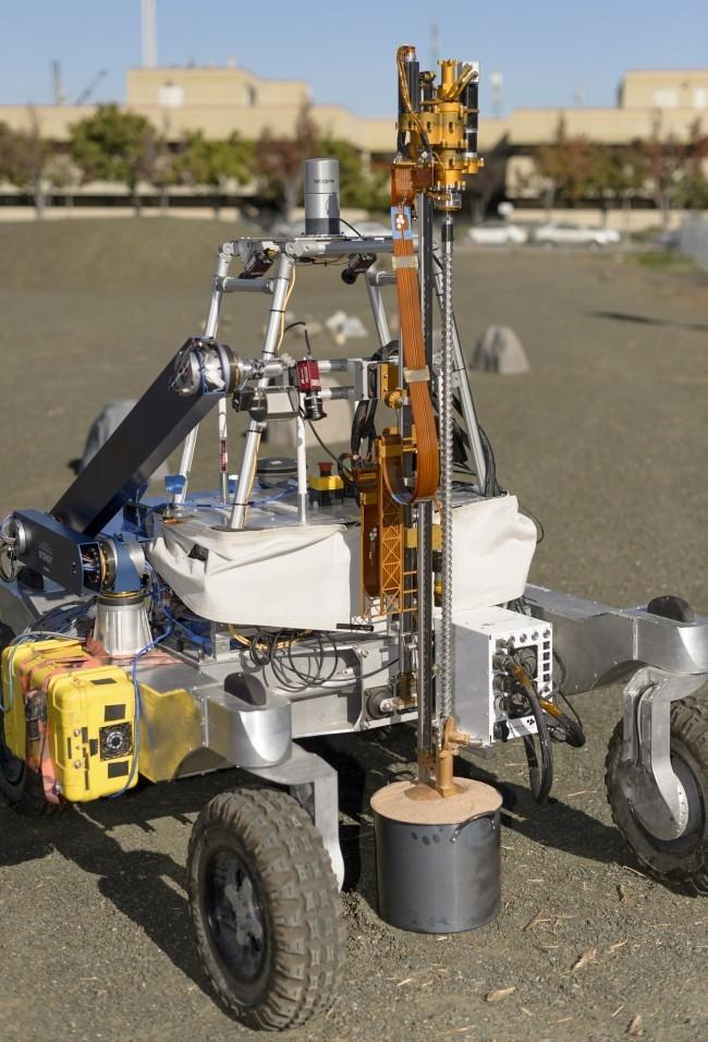 NASA entwickelt autonome Bohrer, um nach Leben unter der Marsoberfläche zu suchen arads bohrt in mars
