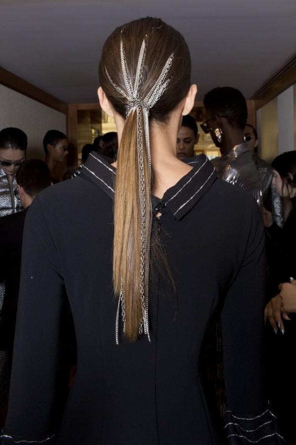 Pferdeschwanz Idee Frisuren Damen