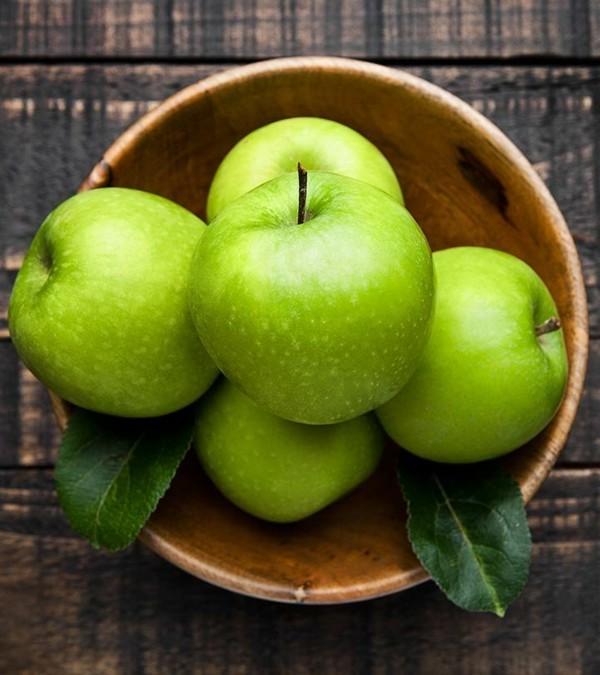 Rezept Apfel Crumble Apfelstreusel grüner Apfel ganz Schale