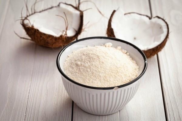 Rezept Apfel Crumble Apfelstreusel zubereiten Kokosmehl