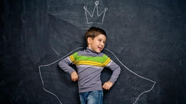 Tafelfarbe Kinderzimmer Ideen Kreidetafel Wand kreative Gestaltungsideen
