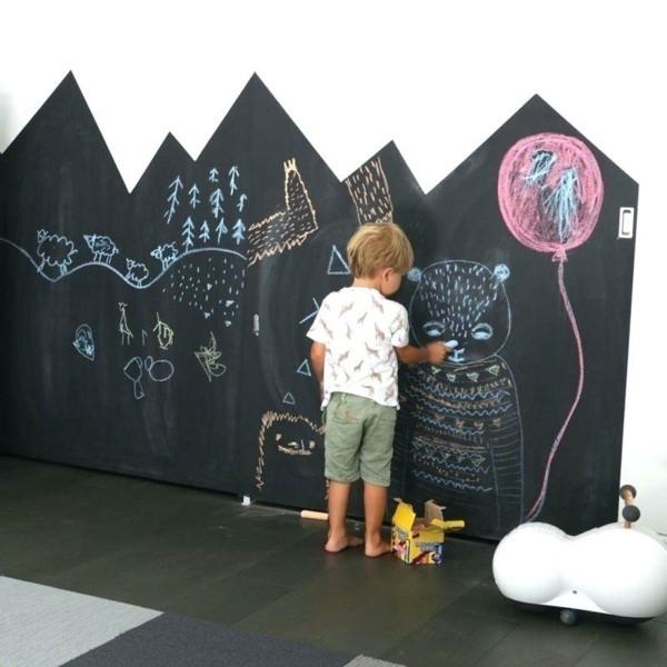 Tafelfarbe Kinderzimmer Tafelfolie Wandgestaltung