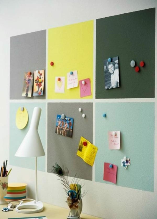 Tafelfarbe magnetisch Kinderzimmer Wanddeko Ideen