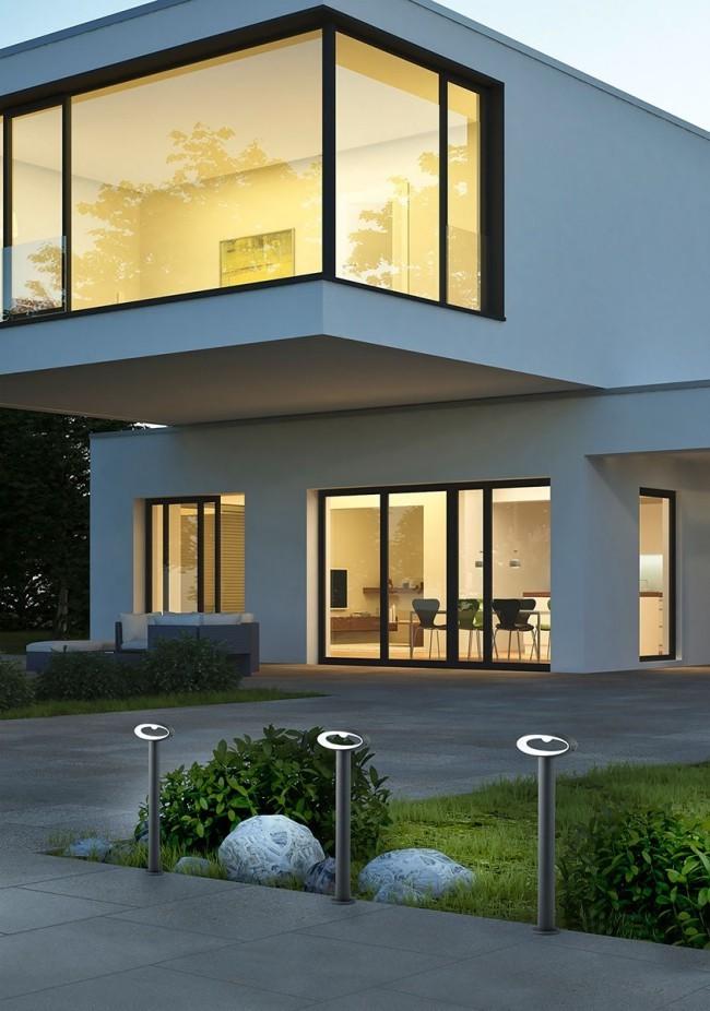Terrasse und Balkon neu gestalten LED-Beleuchtungsideen für den Außenbereich gehweg gut beleuchten