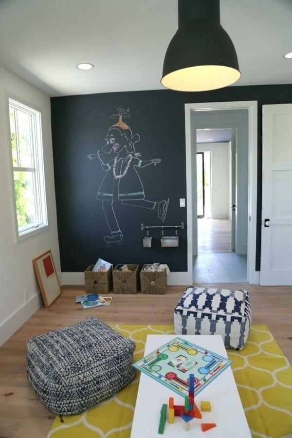 Wanddekoration Akzentwand streichen Kreidetafel Tafelfarbe