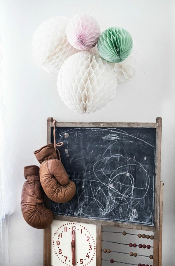 Wanddekoration Kinderzimmer Möbel Kreidetafel Tafelfarbe