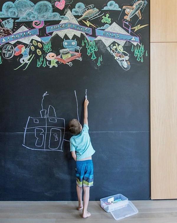 Wanddekoration kreative Wand Kreidetafel Tafelfarbe