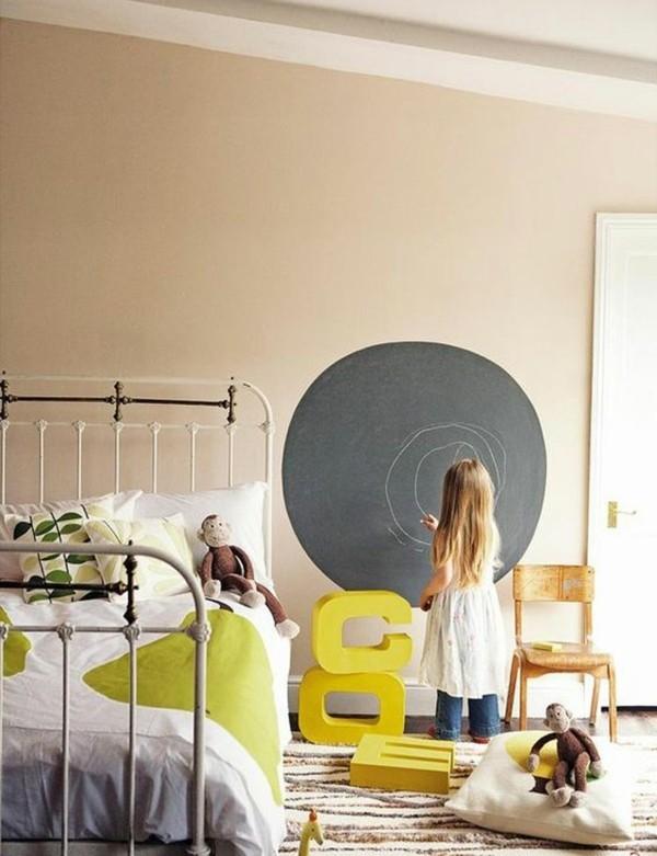 Wanddekoration kreative Wand Tafelfolie rund Tafelfarbe
