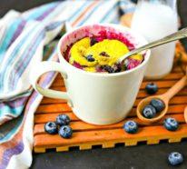 Tassenkuchen ohne Ei: ein einfaches Kürbisrezept und noch mehr leckere Inspiration!
