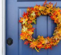 Mehr als 40 Herbstkranz Ideen, die kinderleicht zu basteln sind!