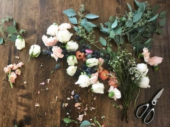 brautstrauß trocknen blüten und blätter konservieren