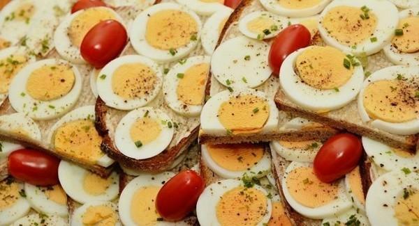 eier gesund trypthophan lebensmittel