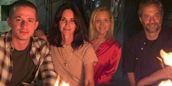 friends reunion - promis hollywood courtney cox