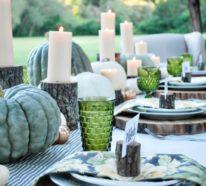 40 Tischdeko-Ideen in verschiedenen Stilen laden den Herbst ins Haus ein