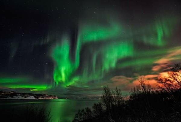 nordlichter sehen alta stadt norwegen