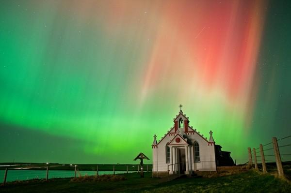 nordlichter sehen auf orkney