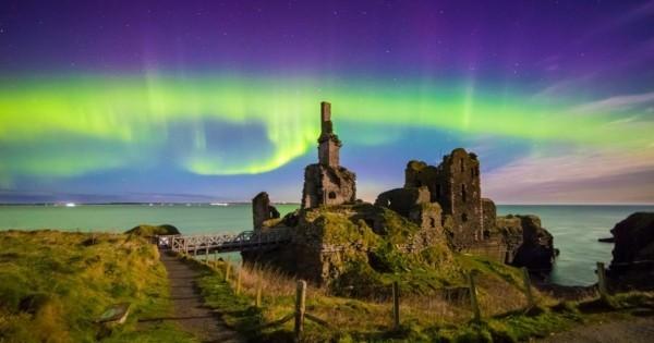 nordlichter sehen in schottland norden