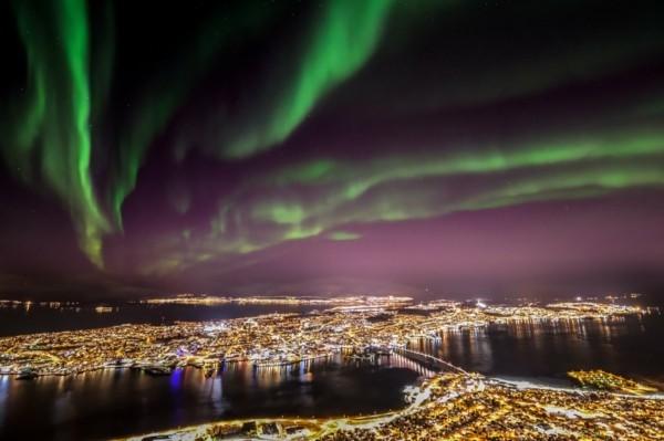 nordlichter sehen norwegen Tromsø