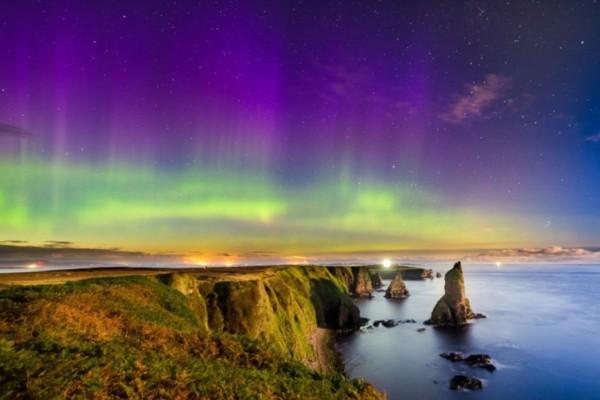 nordlichter sehen schottland Caithness