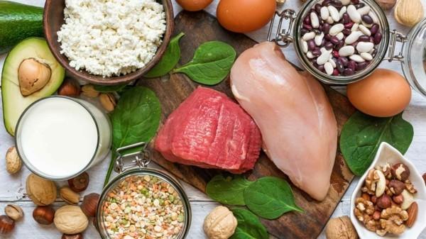 putenfleisch nüsse bohnen tryptophan lebensmittel