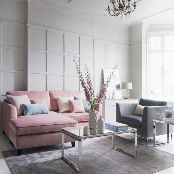 rosa und andere schattierungen inneneinrichtung trends