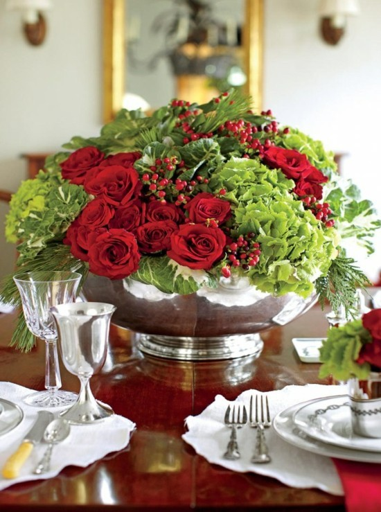 wedding centerpieces for round tables 100 Fresh Christmas Decorating Ideas Southern Living