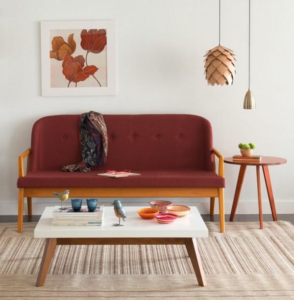 stillvolle dekoration fuer den tisch im stil vom herbst