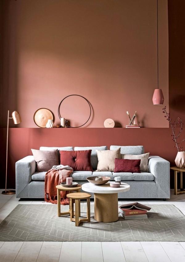 trendfarben wohnzimmer ideen innenenrichtung