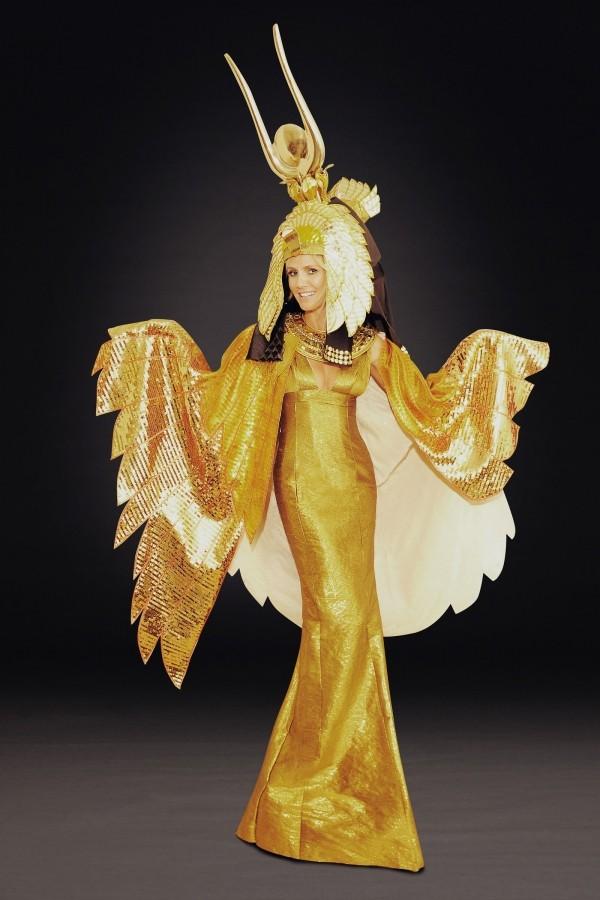 2012 Kleoparta Halloween Kostüme Heidi Klum