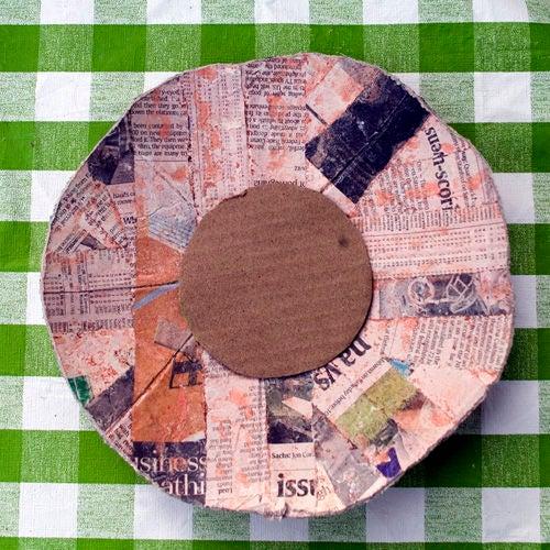 21 - Zeitschriften Papier - Basteln mit Pappmache