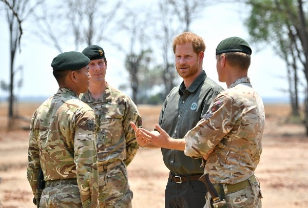 Royal visit to Africa - Day Eight