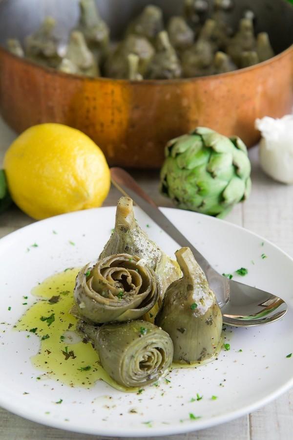 Artischocken zubereiten Artischocken kochen gesundheitliche Vorteile