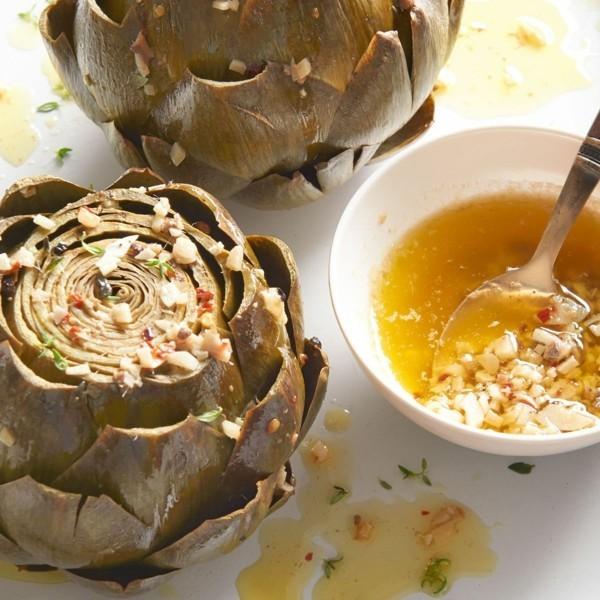 Artischocken zubereiten Rezept Suppe gesunde Ernährung