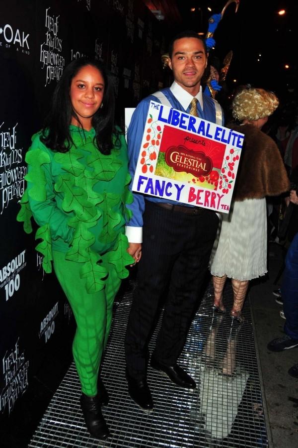 Aryn Drake-Lee und Jessie Williams Halloween Kostüme