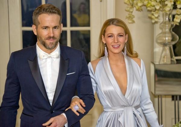Blake Lively und Ryan Reynolds Baby Nummer drei öffentlicher Auftritt blendend aussehen