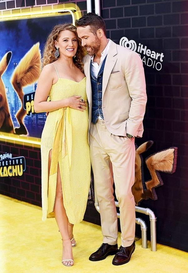Blake Lively und Ryan Reynolds bei der Filmpremiere von Pokemon Mai 2019