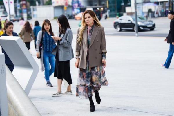 Business Outfit - Street Style - Οδική μόδα