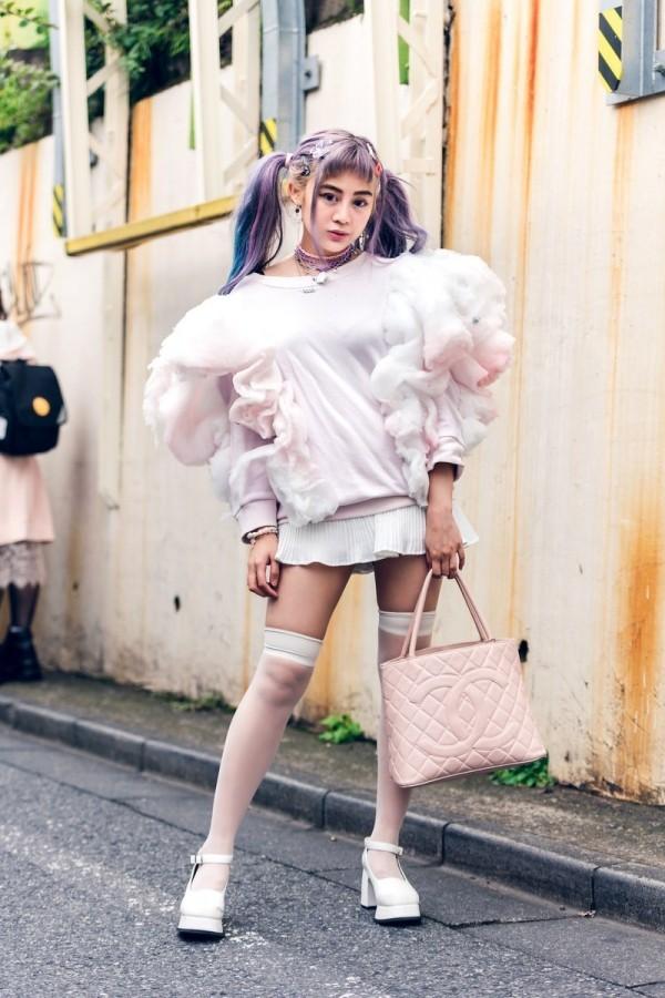 Damen Trends aktuelle Mode Tokyo Fashion Week Modetrends Street Fashion